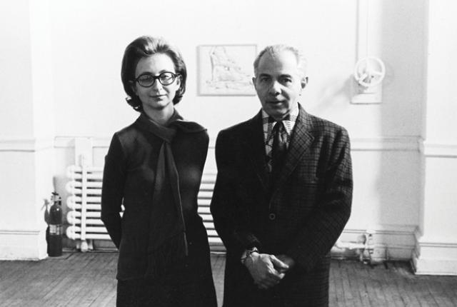 Herbert and Dorothy Vogel