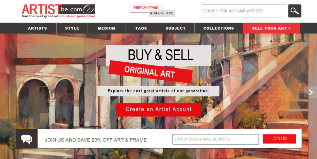ArtistBe.com is a Great Source for Discovering Up-And-Coming New Artists.