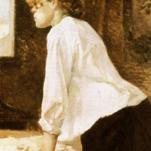 """Toulouse-Lautrec and the Estranged Elegance of """"The Laundress"""""""