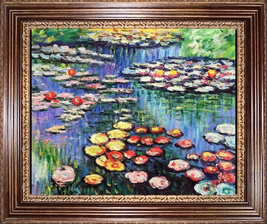 Claude Monet  Water Lilies (pink)