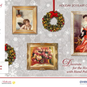 Find the Perfect Deal on the Perfect Gift with overstockArt.com's Holiday Art Catalog