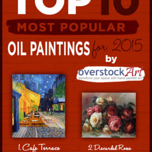overstockArt.com Unveils 2015's Top 10 Most Popular Art