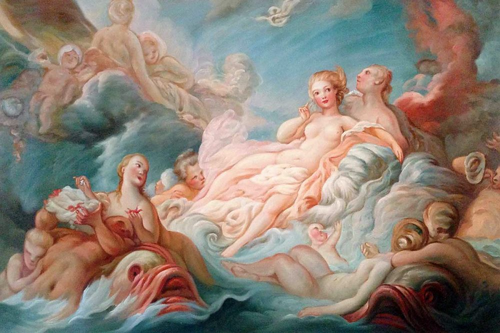 Jean Fragonard  The Birth of Venus, 1753-1755