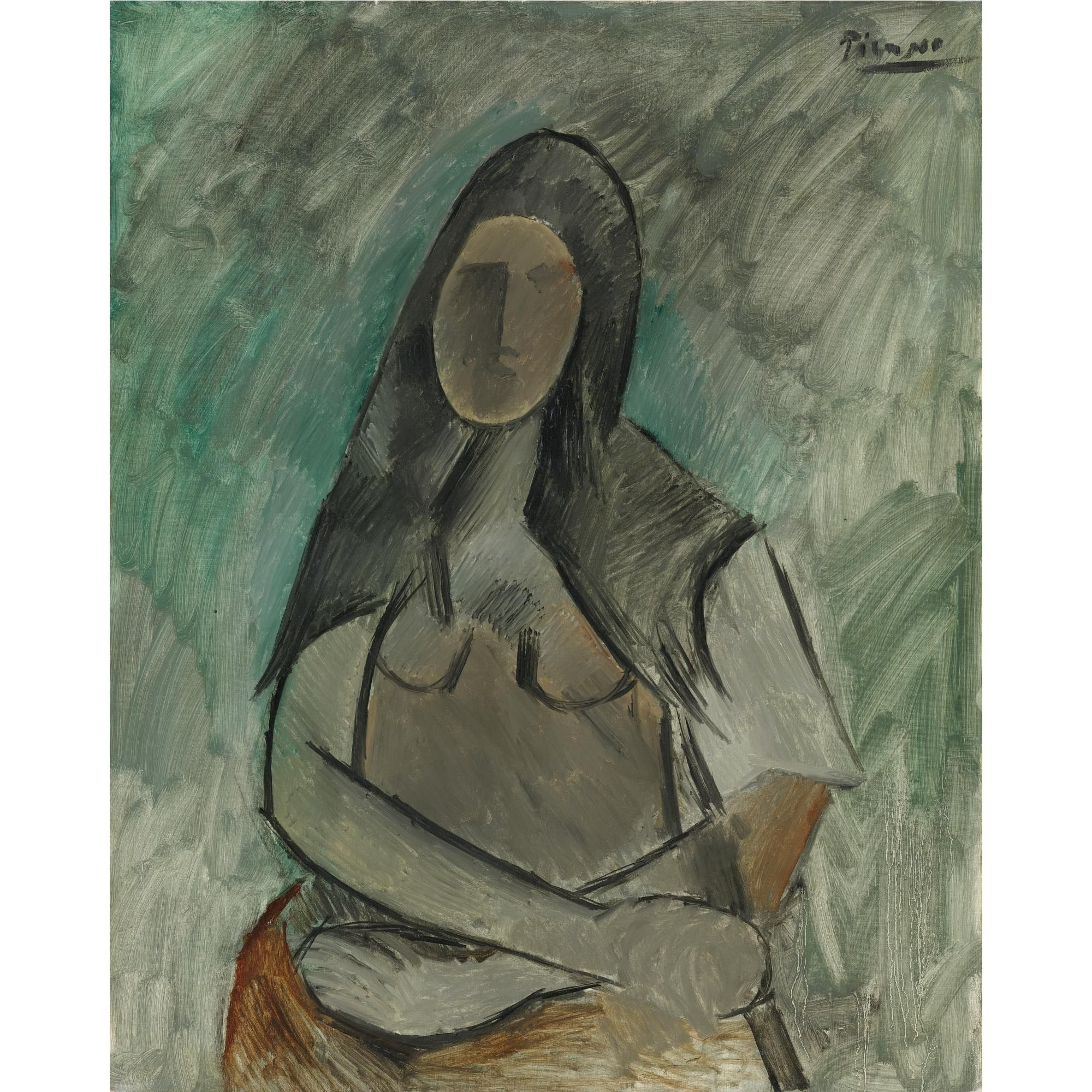 Femme Assise - Picasso
