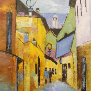 ArtistBe.com's June Artist of the Month is Painter Maria Karalyos