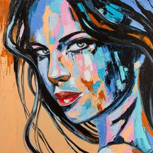 Check Out September Artist of the Month Svetlana Tikhonova's Expressive Artwork
