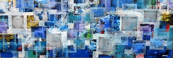 Dispersio Geometrica Bleu - Joan Llaverias