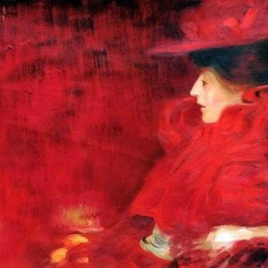 Art in Support of National 'Wear Red' Day