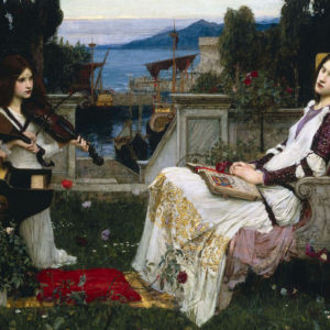 John William Waterhouse and William Shakespeare Share a Love of Female Characters