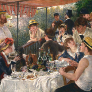 Luncheon of the Boating Party by Renoir: Summer Fun & A Restoration Gone Wrong