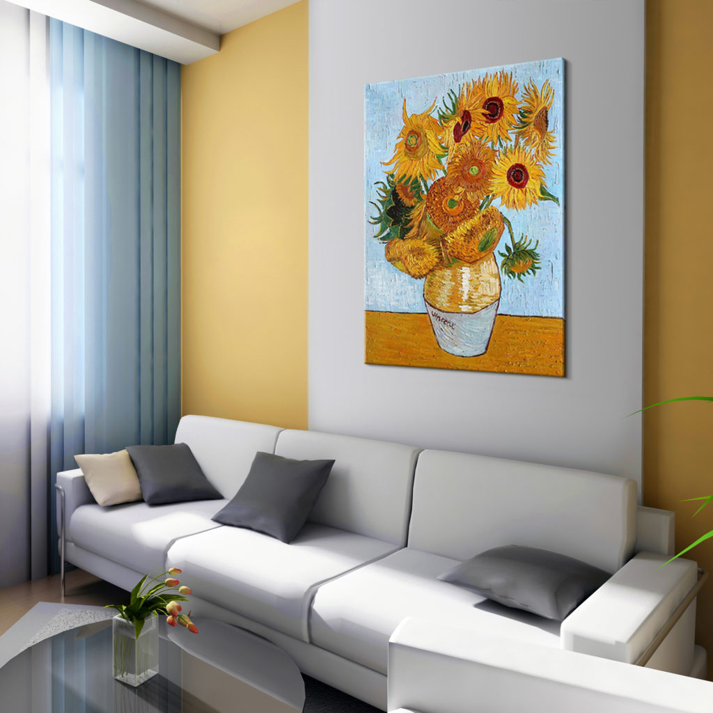 Vincent Van Gogh - Sunflowers - Popular Paintings During COVID-19