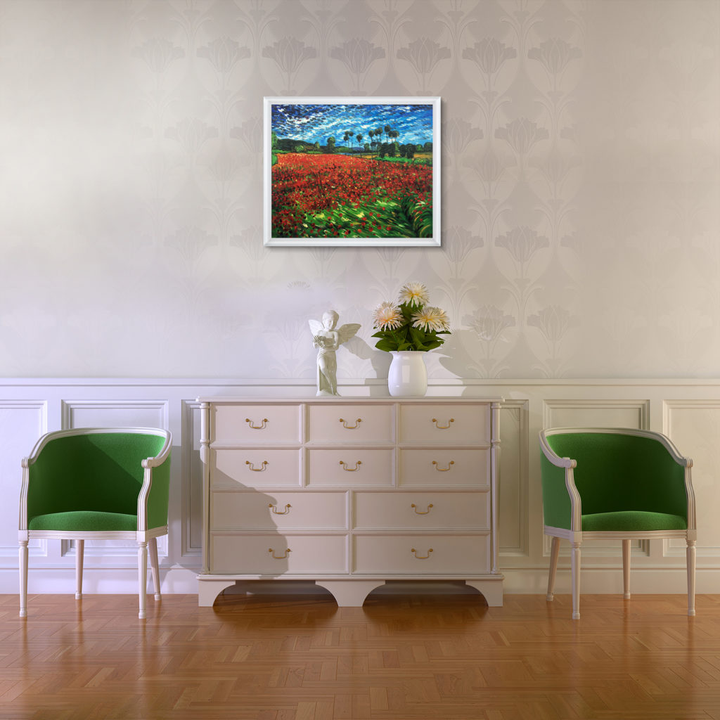 Vincent van Gogh - Field of Poppies - The Healing Power of Art