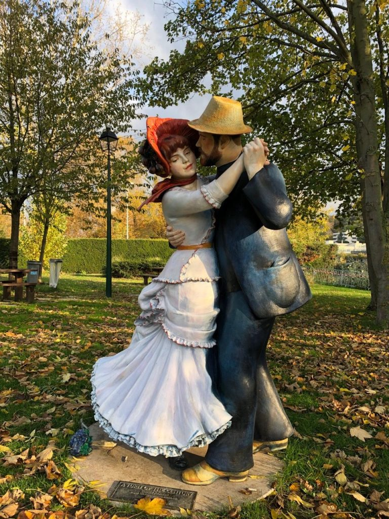 Pierre-Auguste Renoir - Dance at Bougival - Grounds For Sculpture