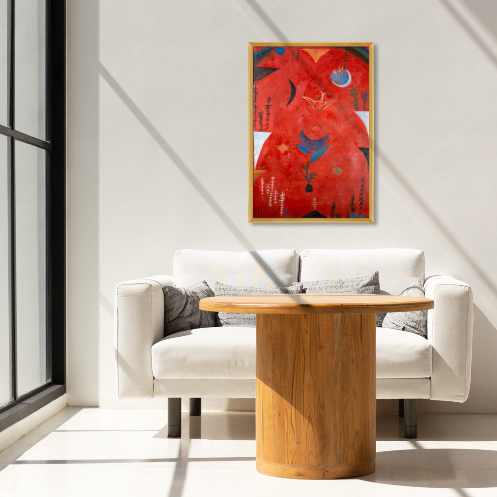 Paul Klee - Flower Myth - Artists New to overstockArt