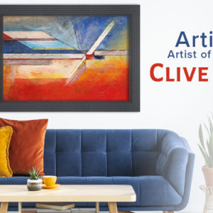 Clive Watts: The Abstract Beauty in Composition