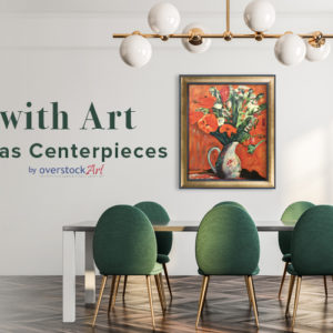 Dining with Art as a Centerpiece
