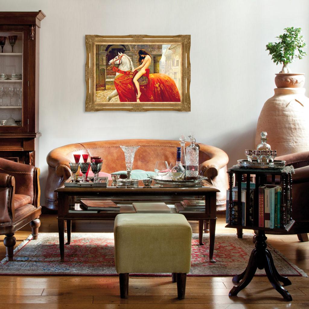John Maler Collier - Lady Godiva - Romantic Art