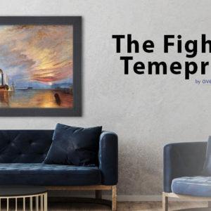 Joseph William Turner and The Fighting Temeraire