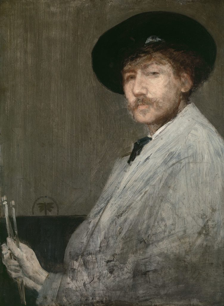 Whistler - Self Portrait