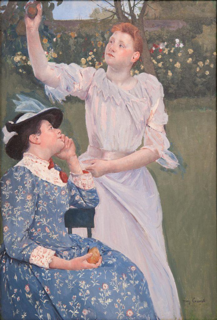 Young Women Picking Fruit-Cassatt-1891-92
