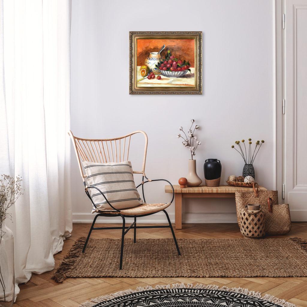 Pierre-Auguste Renoir - Strawberries - Summer Refresh
