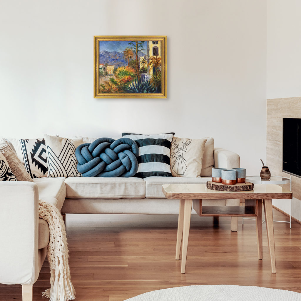 Claude Monet - Villas at Bordighera