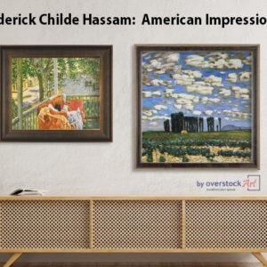 Frederick Childe Hassam-Impressionist and Patriot