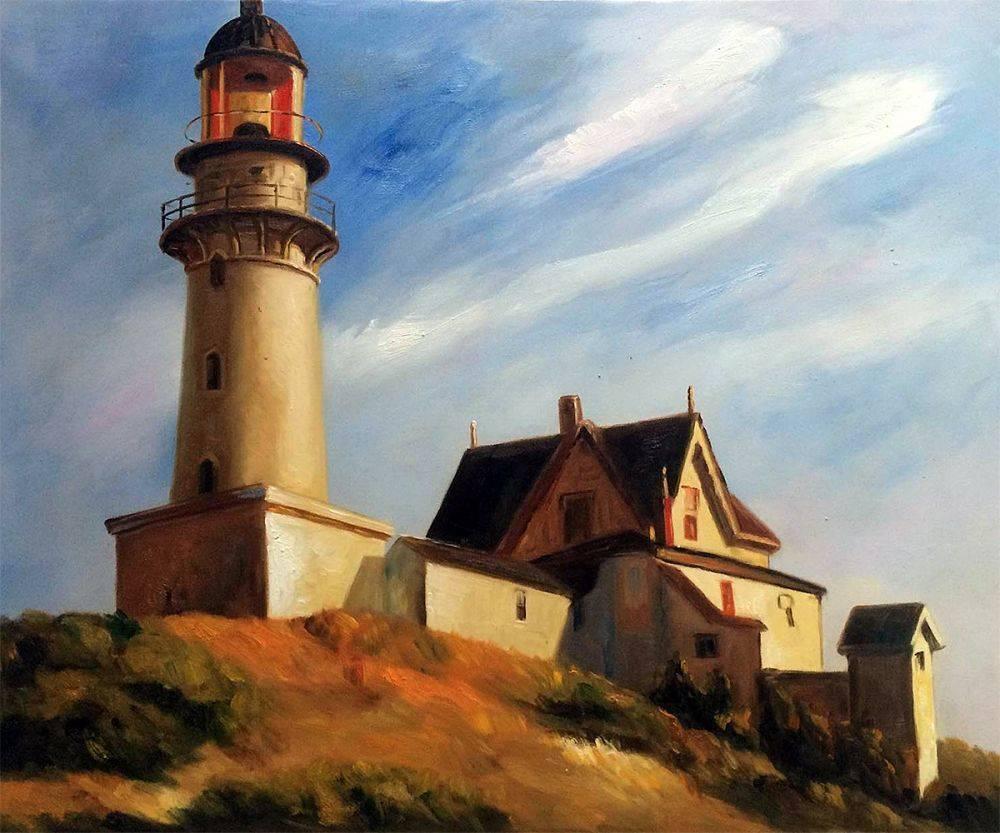 Edward_Hopper-Lighthouse_at_Two_Lights-Illuminating_Hopper