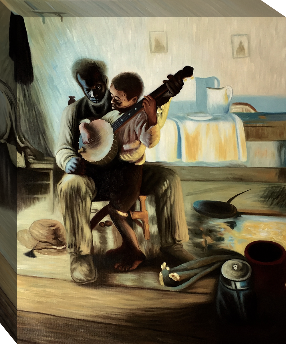 Which Artist Painted The Banjo Lesson