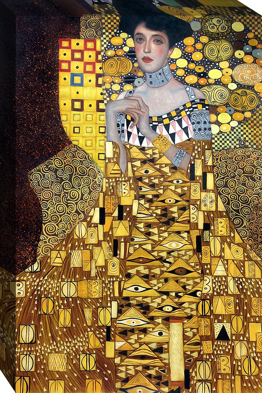 portrait of adele bloch bauer 1 1907 gustav klimt. Black Bedroom Furniture Sets. Home Design Ideas